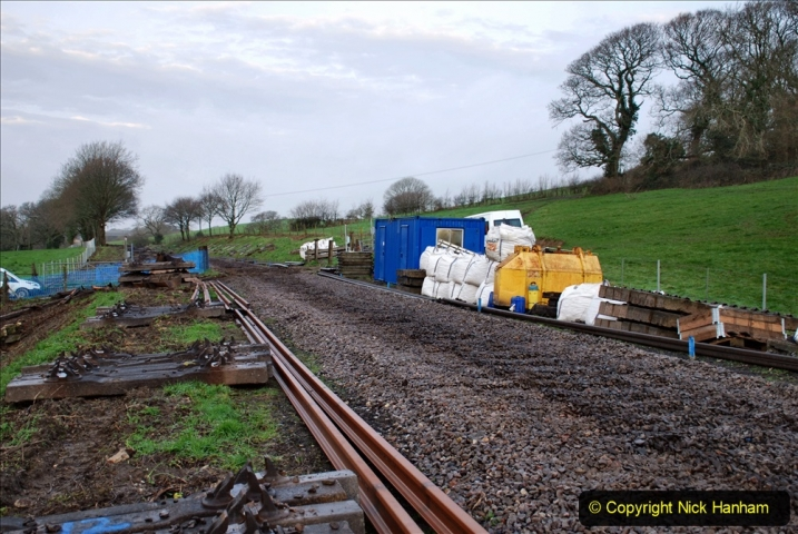 2020-01-07 Track renewal Cowpat Crossing to Just beyond Dickers Crossing. (5) 005