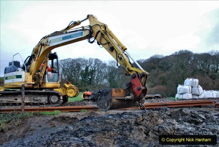 2020-01-07 Track renewal Cowpat Crossing to Just beyond Dickers Crossing. (54) 054
