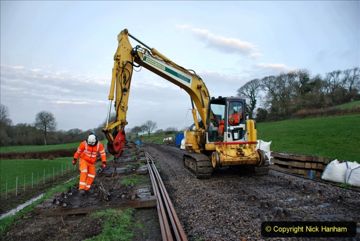 2020-01-07 Track renewal Cowpat Crossing to Just beyond Dickers Crossing. (6) 006