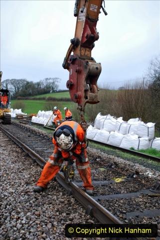 2020-01-07 Track renewal Cowpat Crossing to Just beyond Dickers Crossing. (62) 062