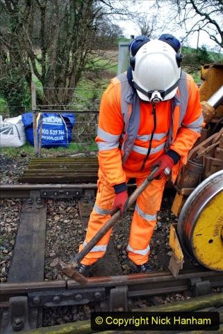 2020-01-07 Track renewal Cowpat Crossing to Just beyond Dickers Crossing. (65) 065