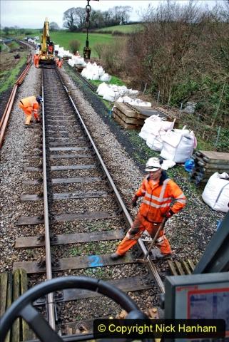 2020-01-07 Track renewal Cowpat Crossing to Just beyond Dickers Crossing. (66) 066
