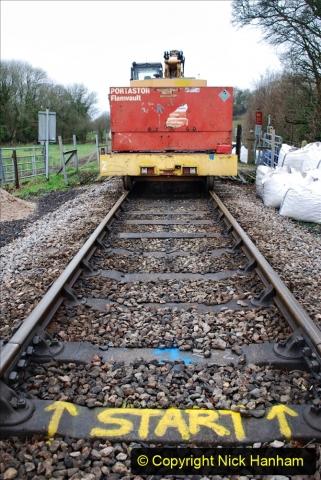 2020-01-07 Track renewal Cowpat Crossing to Just beyond Dickers Crossing. (68) 068