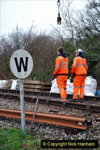 2020-01-07 Track renewal Cowpat Crossing to Just beyond Dickers Crossing. (69) 069