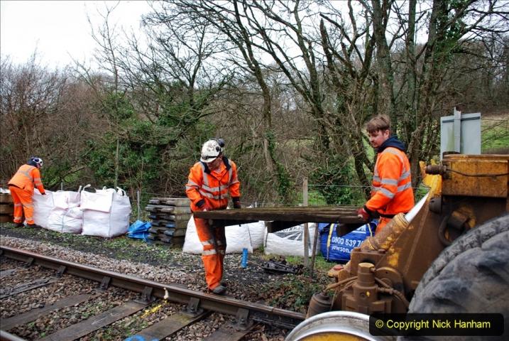 2020-01-07 Track renewal Cowpat Crossing to Just beyond Dickers Crossing. (70) 070