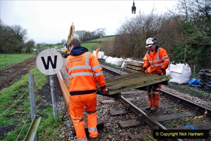 2020-01-07 Track renewal Cowpat Crossing to Just beyond Dickers Crossing. (71) 071