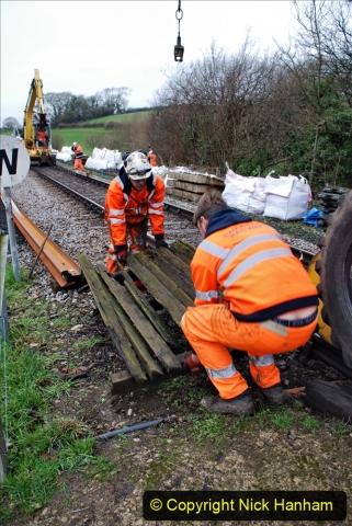 2020-01-07 Track renewal Cowpat Crossing to Just beyond Dickers Crossing. (72) 072
