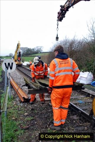 2020-01-07 Track renewal Cowpat Crossing to Just beyond Dickers Crossing. (73) 073