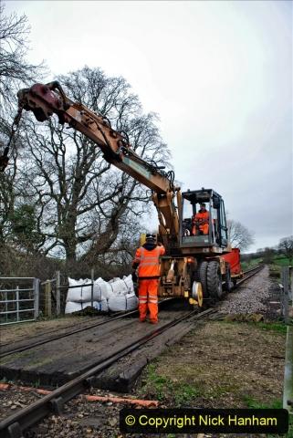2020-01-07 Track renewal Cowpat Crossing to Just beyond Dickers Crossing. (76) 076