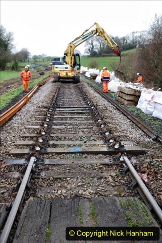 2020-01-07 Track renewal Cowpat Crossing to Just beyond Dickers Crossing. (78) 078
