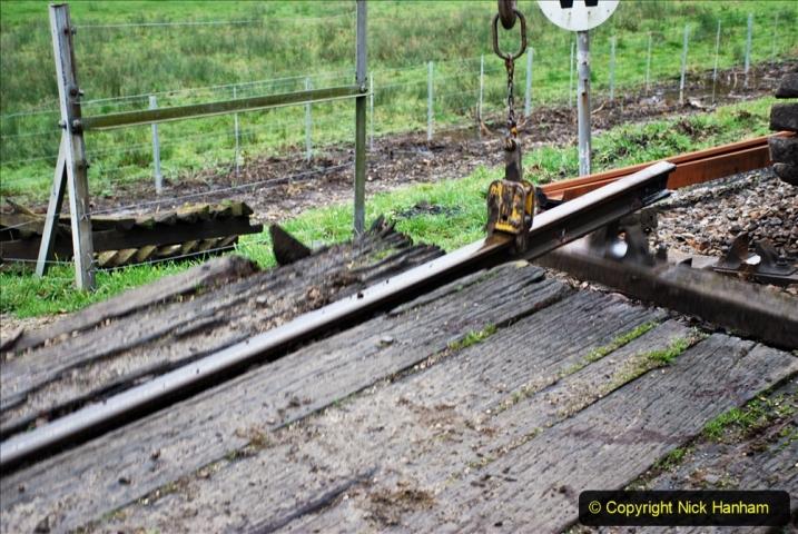 2020-01-07 Track renewal Cowpat Crossing to Just beyond Dickers Crossing. (86) 086