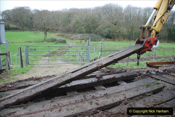 2020-01-07 Track renewal Cowpat Crossing to Just beyond Dickers Crossing. (90) 090