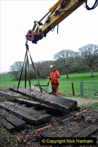 2020-01-07 Track renewal Cowpat Crossing to Just beyond Dickers Crossing. (93) 093