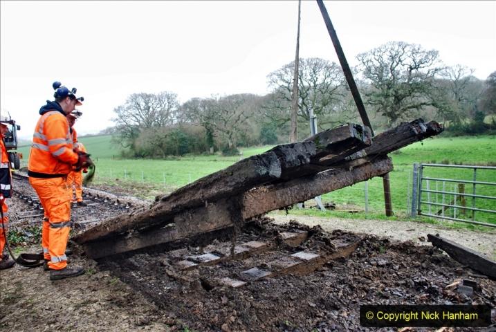 2020-01-07 Track renewal Cowpat Crossing to Just beyond Dickers Crossing. (98) 098