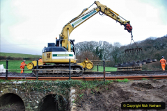 2020-01-07 Track renewal Cowpat Crossing to Just beyond Dickers Crossing. (18) 018