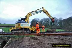 2020-01-07 Track renewal Cowpat Crossing to Just beyond Dickers Crossing. (21) 021