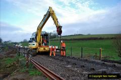 2020-01-07 Track renewal Cowpat Crossing to Just beyond Dickers Crossing. (22) 022