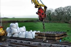 2020-01-07 Track renewal Cowpat Crossing to Just beyond Dickers Crossing. (27) 027