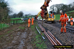 2020-01-07 Track renewal Cowpat Crossing to Just beyond Dickers Crossing. (29) 029