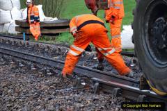 2020-01-07 Track renewal Cowpat Crossing to Just beyond Dickers Crossing. (30) 030