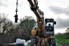 2020-01-07 Track renewal Cowpat Crossing to Just beyond Dickers Crossing. (34) 034