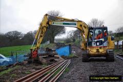 2020-01-07 Track renewal Cowpat Crossing to Just beyond Dickers Crossing. (39) 039