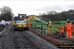 2020-01-07 Track renewal Cowpat Crossing to Just beyond Dickers Crossing. (45) 045