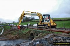 2020-01-07 Track renewal Cowpat Crossing to Just beyond Dickers Crossing. (46) 046