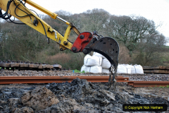 2020-01-07 Track renewal Cowpat Crossing to Just beyond Dickers Crossing. (55) 055