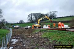 2020-01-07 Track renewal Cowpat Crossing to Just beyond Dickers Crossing. (59) 059