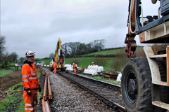 2020-01-07 Track renewal Cowpat Crossing to Just beyond Dickers Crossing. (60) 060