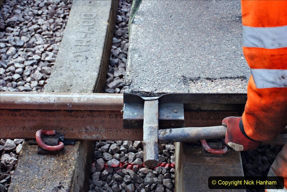 2020-01-08 Track renewal Cowpat Crossing to just beyond Dickers Crossing. (103) 103