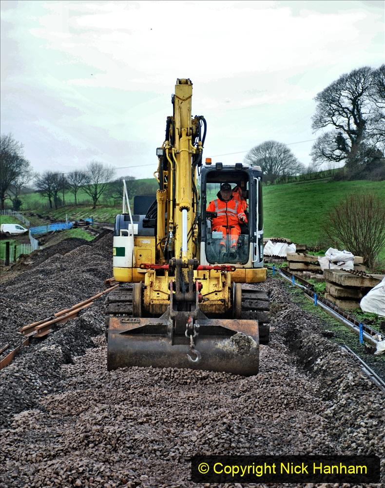 2020-01-08 Track renewal Cowpat Crossing to just beyond Dickers Crossing. (114) 114