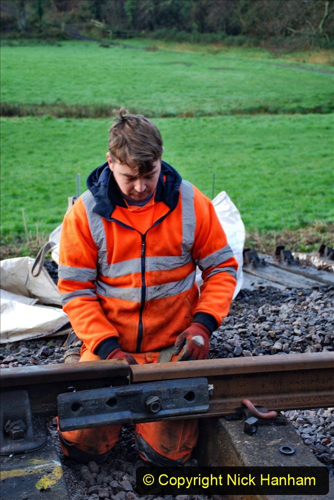 2020-01-08 Track renewal Cowpat Crossing to just beyond Dickers Crossing. (12) 012