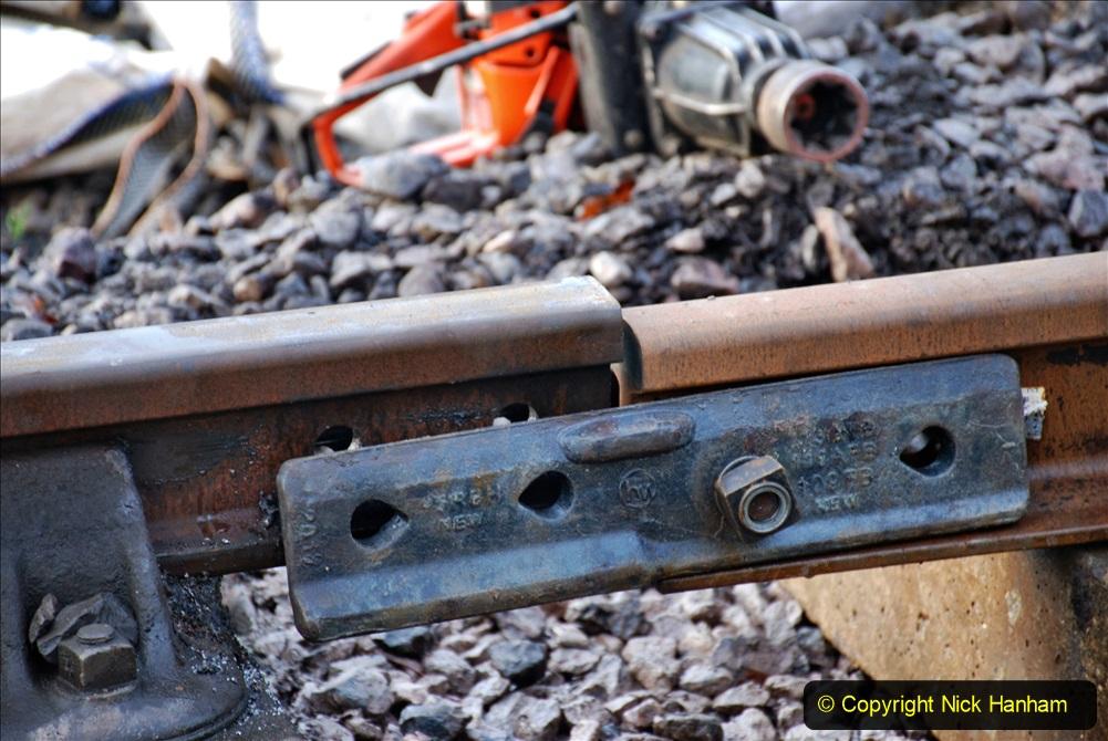 2020-01-08 Track renewal Cowpat Crossing to just beyond Dickers Crossing. (13) 013