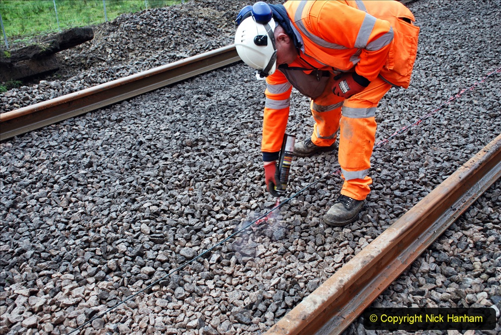 2020-01-08 Track renewal Cowpat Crossing to just beyond Dickers Crossing. (153) 153