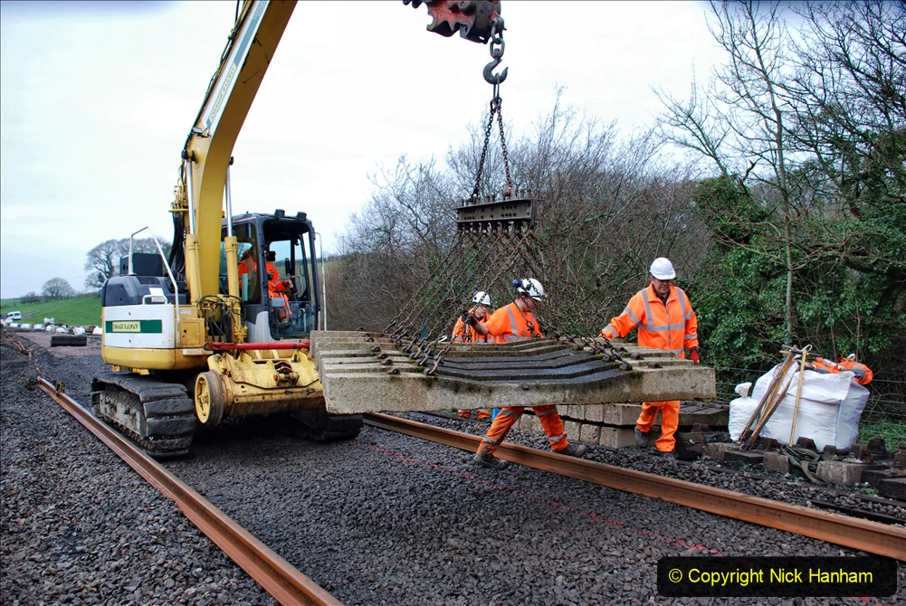 2020-01-08 Track renewal Cowpat Crossing to just beyond Dickers Crossing. (159) 159