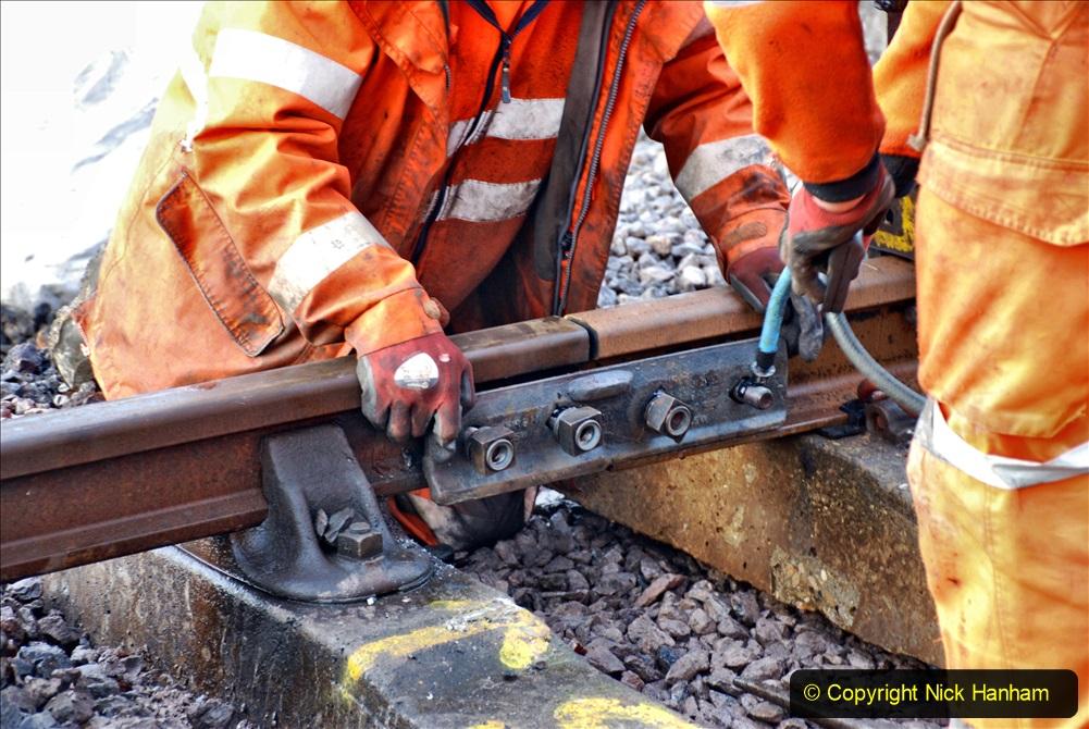 2020-01-08 Track renewal Cowpat Crossing to just beyond Dickers Crossing. (17) 017