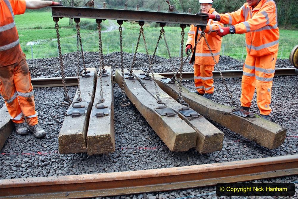 2020-01-08 Track renewal Cowpat Crossing to just beyond Dickers Crossing. (171) 171
