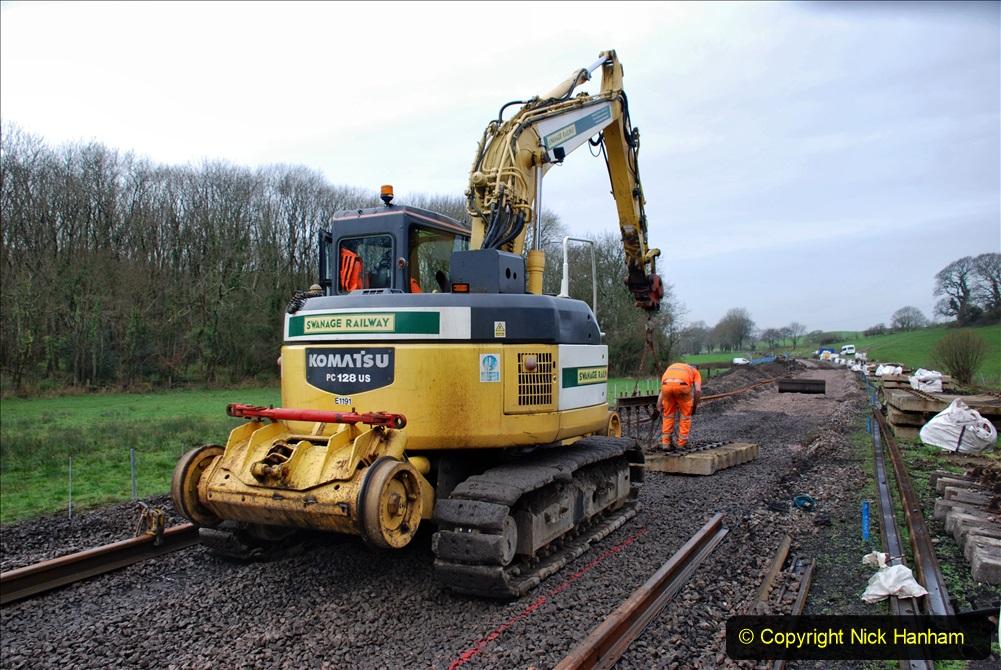2020-01-08 Track renewal Cowpat Crossing to just beyond Dickers Crossing. (172) 172
