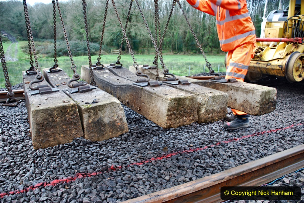 2020-01-08 Track renewal Cowpat Crossing to just beyond Dickers Crossing. (177) 177