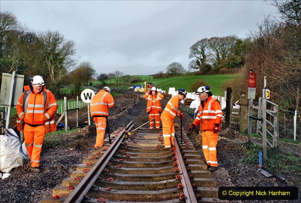 2020-01-08 Track renewal Cowpat Crossing to just beyond Dickers Crossing. (18) 018