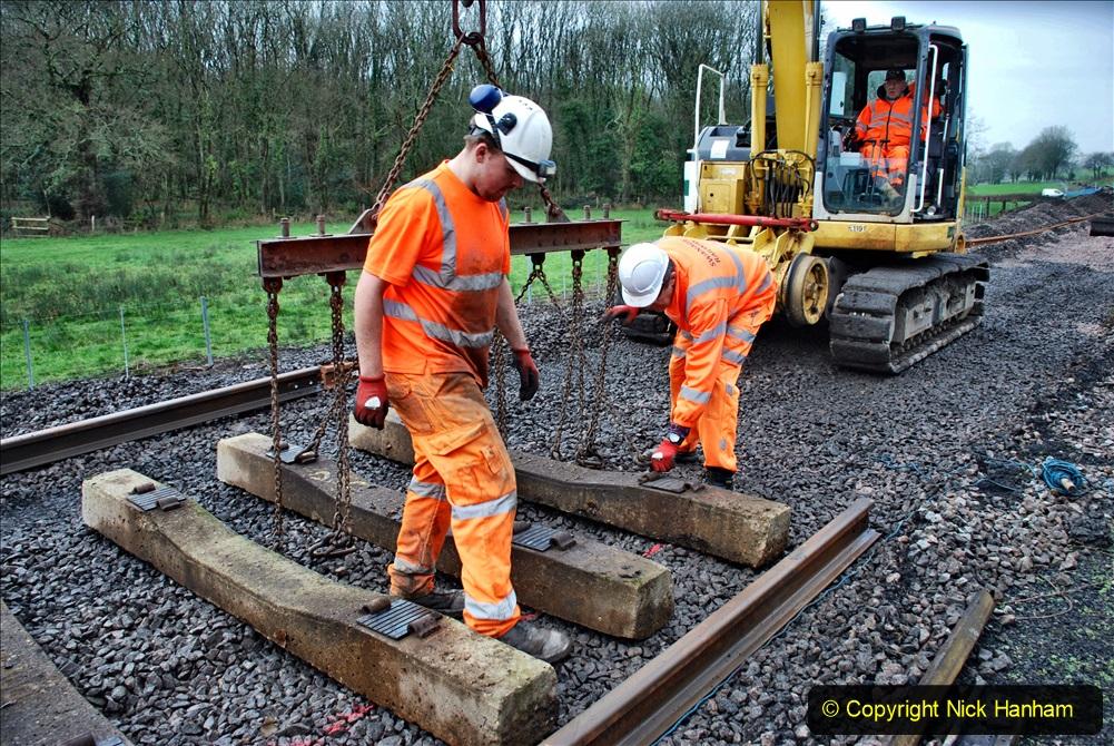 2020-01-08 Track renewal Cowpat Crossing to just beyond Dickers Crossing. (181) 181