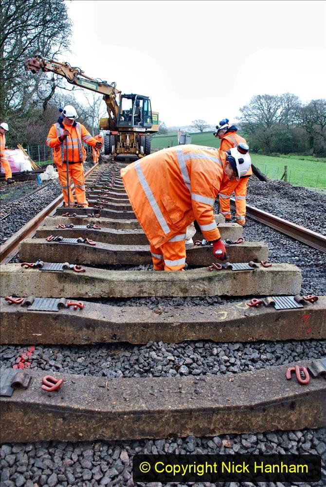 2020-01-08 Track renewal Cowpat Crossing to just beyond Dickers Crossing. (184) 184