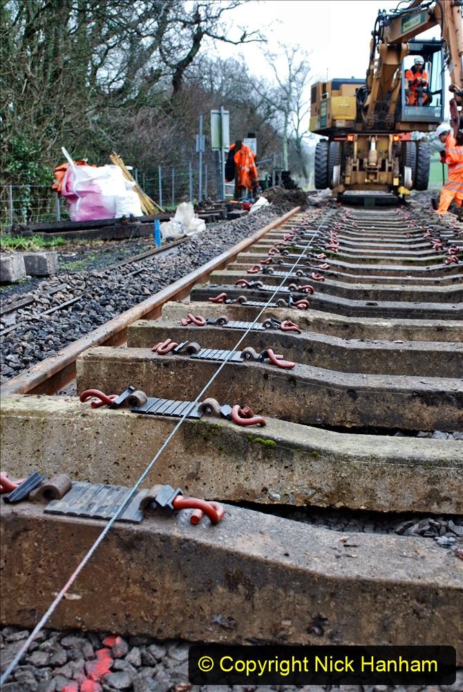 2020-01-08 Track renewal Cowpat Crossing to just beyond Dickers Crossing. (189) 189
