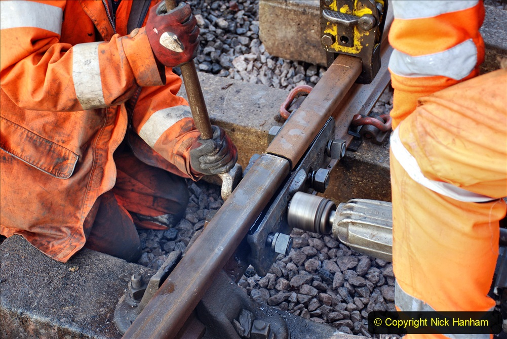 2020-01-08 Track renewal Cowpat Crossing to just beyond Dickers Crossing. (20) 020