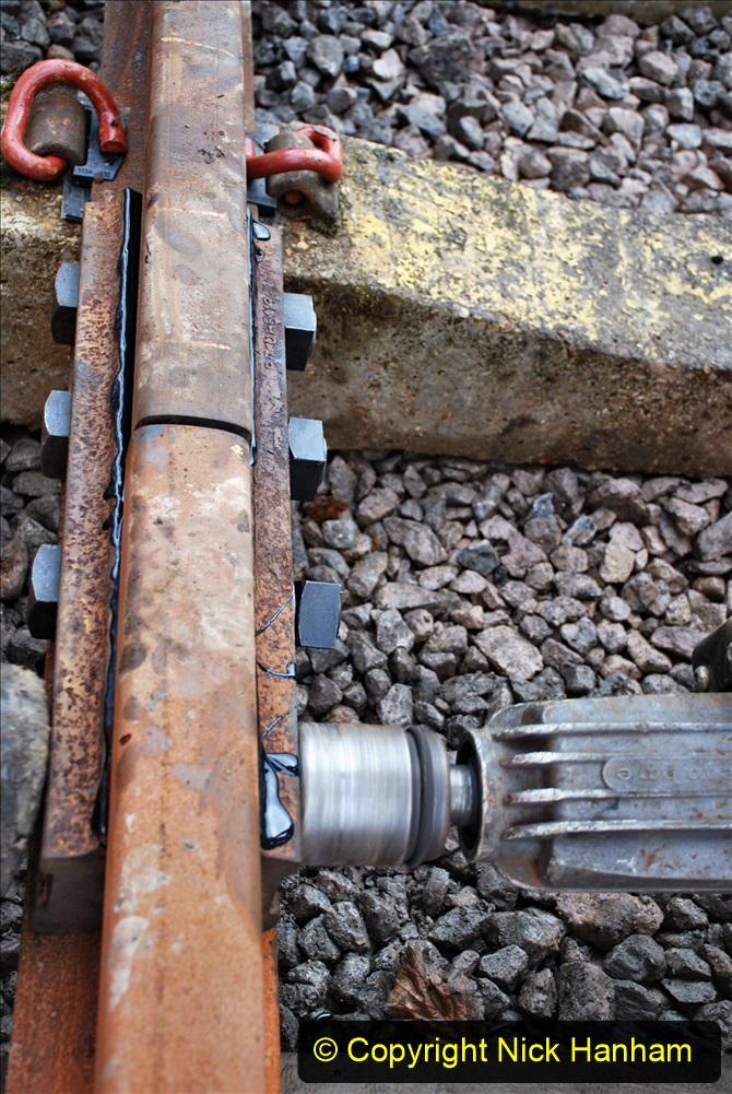 2020-01-08 Track renewal Cowpat Crossing to just beyond Dickers Crossing. (204) 204