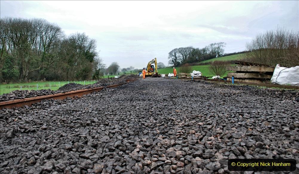 2020-01-08 Track renewal Cowpat Crossing to just beyond Dickers Crossing. (211) 211