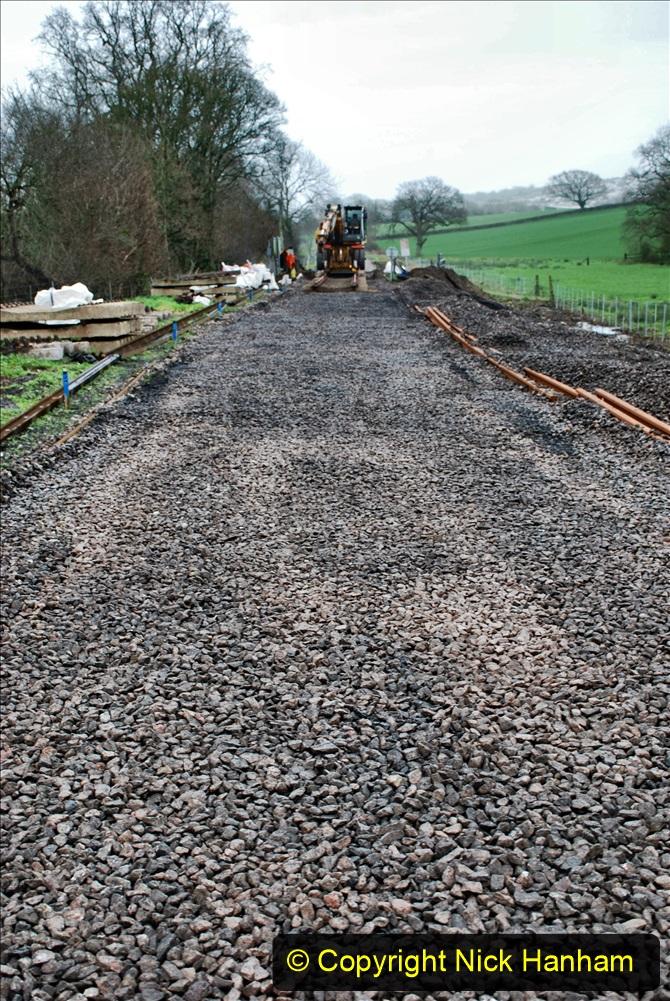 2020-01-08 Track renewal Cowpat Crossing to just beyond Dickers Crossing. (213) 213