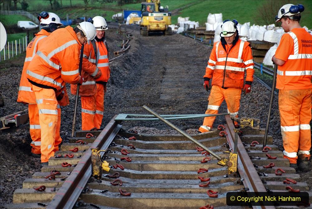 2020-01-08 Track renewal Cowpat Crossing to just beyond Dickers Crossing. (23) 023